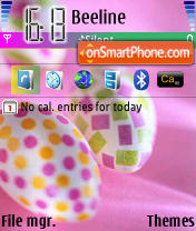 Easter 01 theme screenshot