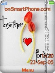 Together Forever 10 es el tema de pantalla