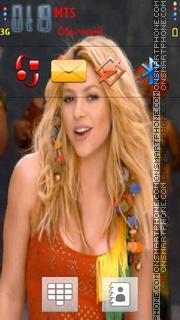 Shakira 16 es el tema de pantalla