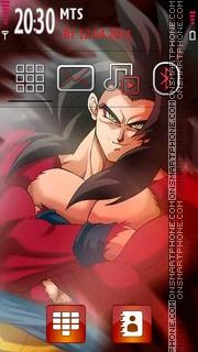 Goku 06 theme screenshot