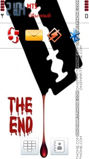 The End 03 theme screenshot