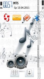 Music Speakars 01 tema screenshot