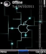 Скриншот темы Apple imac