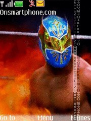 WWE Sin Cara tema screenshot