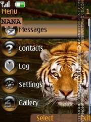Tiger CLK theme screenshot