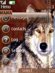 Wolf CLK theme screenshot