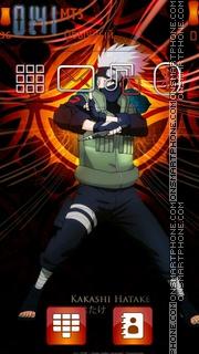 Hatake Kakashi 03 es el tema de pantalla