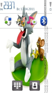 Tom And Jerry Icons 01 theme screenshot