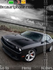 Dodge Charger SRT8 theme screenshot