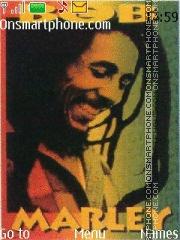 Скриншот темы Bob Marley 09