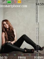 Скриншот темы Miley Cyrus 03