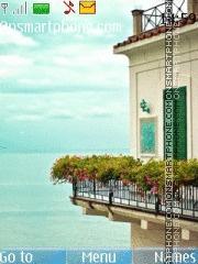 Nice View House and Sea theme screenshot