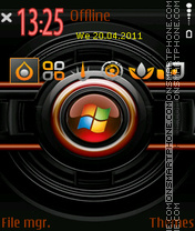 3d Window theme screenshot