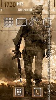 Modern Warfare 2 01 es el tema de pantalla