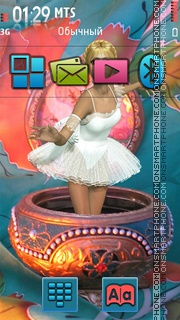 Carillon Doll theme screenshot
