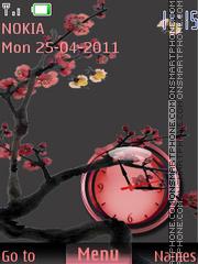Sakura(AR) theme screenshot