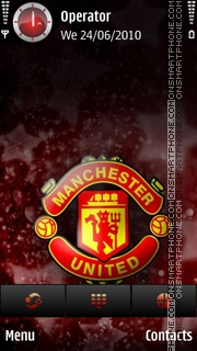 Manchester united champions theme screenshot