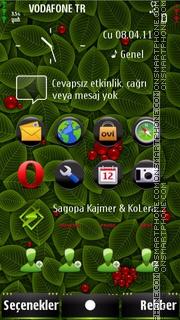 S^3 hacked foliage tema screenshot