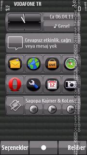 Скриншот темы Glossy