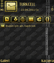 Gold theme screenshot