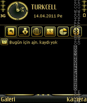 Скриншот темы Last Gold