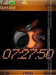 Apple swf theme screenshot