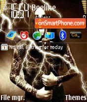 Shagrath theme screenshot