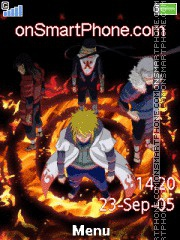 Capture d'écran Naruto 2016 thème