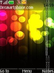 Color Circles es el tema de pantalla