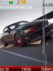 Ford Mustang Boss theme screenshot