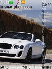 Bentley Continental Supersports Converti tema screenshot