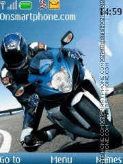 Suzuki GSX-1000R tema screenshot