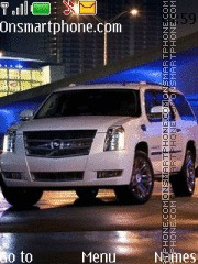 Cadillac Escalade 01 theme screenshot