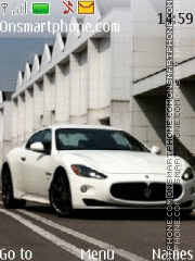 Скриншот темы Maserati Gran Turismo