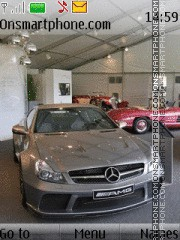 Mercedes-Benz SL65 AMG Black Series theme screenshot