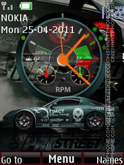 NFS Prostreet Wd Tone theme screenshot