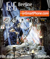 Reaper 01 es el tema de pantalla