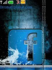 Water Facebook theme screenshot
