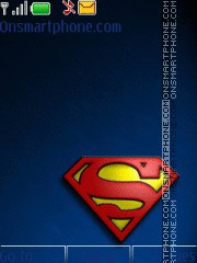 Superman 08 theme screenshot