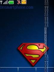 Superman 08 tema screenshot