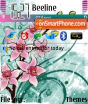 Orchid Design theme screenshot