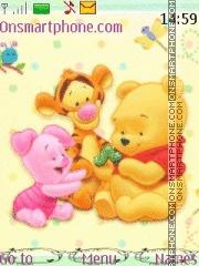 Cute Pooh 02 tema screenshot