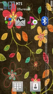 Flower Design theme screenshot