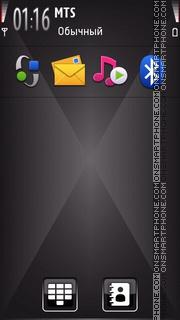Black Diamond 01 tema screenshot