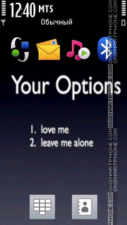 Your Options Theme-Screenshot