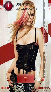 Avril hot Theme-Screenshot