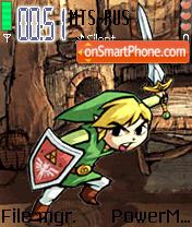 Zelda Wind Waker es el tema de pantalla