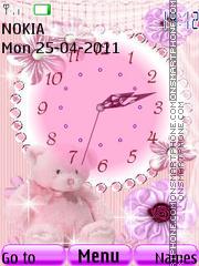 Analog Clock 03 theme screenshot