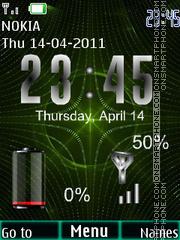 Matrix Battery es el tema de pantalla