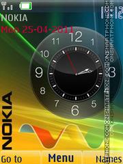 Modern Clock theme screenshot